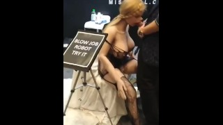 Sex Doll Robot Blowjob